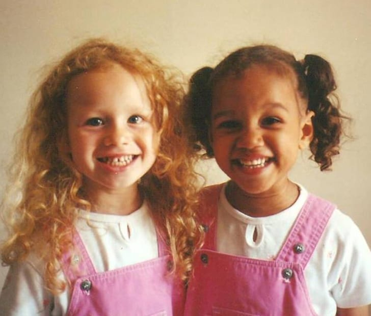 People can't believe that these girls are twins  Look at them today