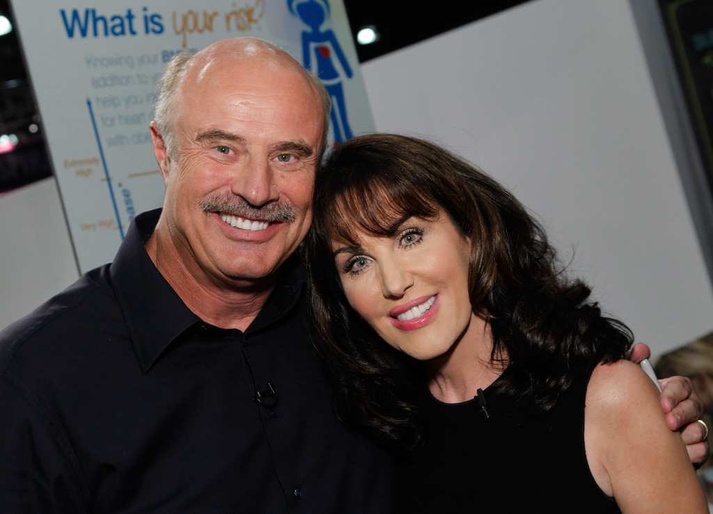 Dr  Phil surprises his wife on his show after 40 years of