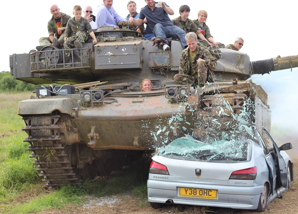 This man purchased a tank on eBay and found a hidden