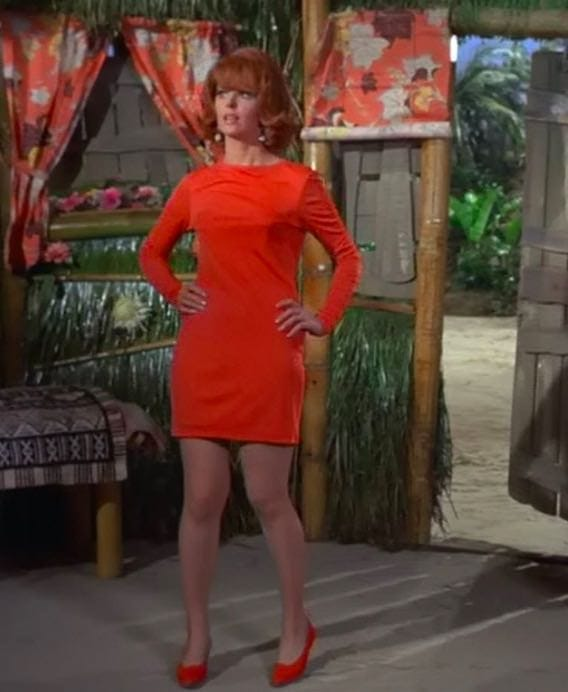 574e22fefae The most memorable outfits Ginger wore on Gilligan s Island