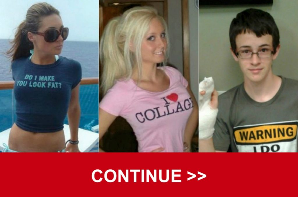 86f8063fc From fast food chain logos to TV show quotes, people will add just about  anything to their T-shirts.