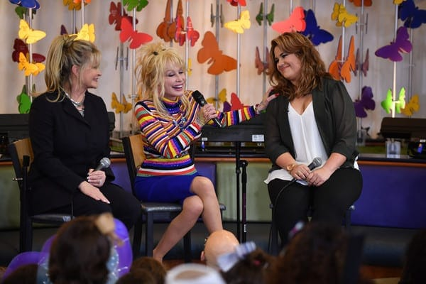 Dolly Parton still remembers the time a fan left a baby on her